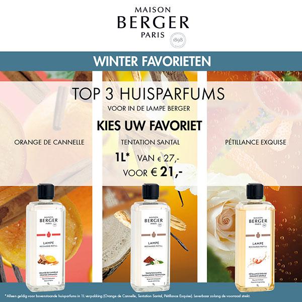Beleef de geuren van Maison Berger